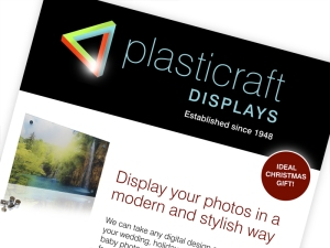 Plasticraft Displays Flyer Design